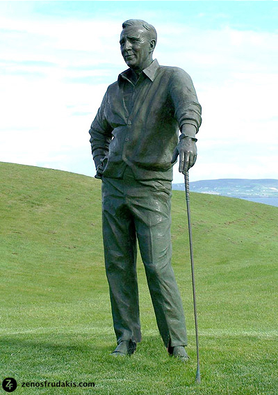 Arnold Palmer, Tralee, sports sculpture