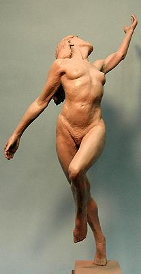 figure sculpture, Free Spirit