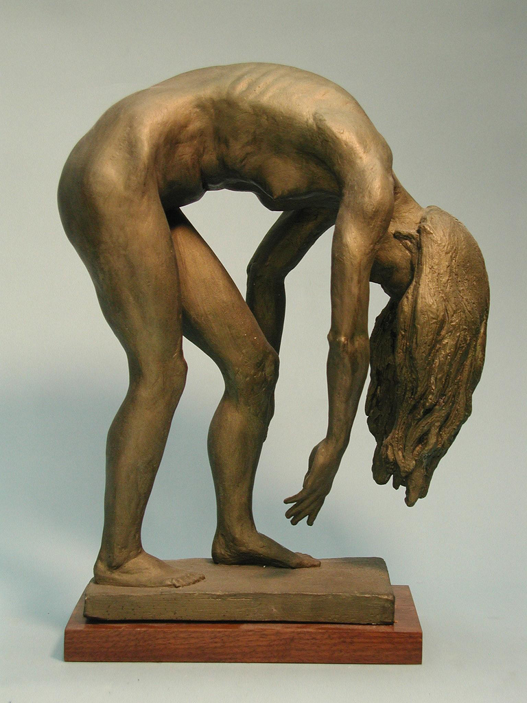 Figure Sculpture, Weeping Willow
