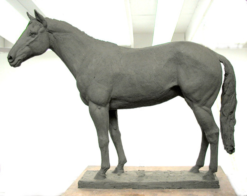 Horse, animal sculpture