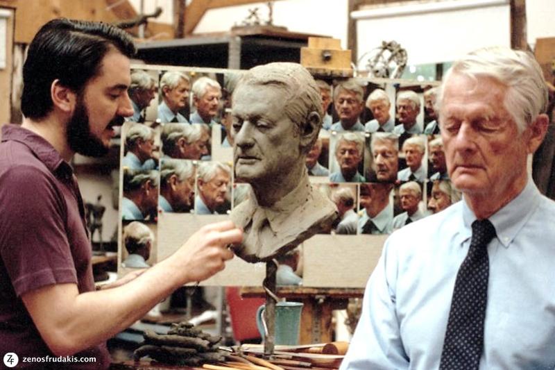 Frudakis Sculpting Edmund Bacon