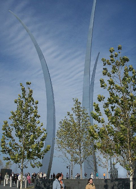 US Air Force Memorial Honor Guard: Installation