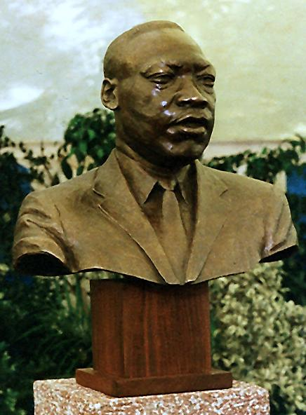 Reverend Dr. Martin Luther King, South Africa, sculpture collection