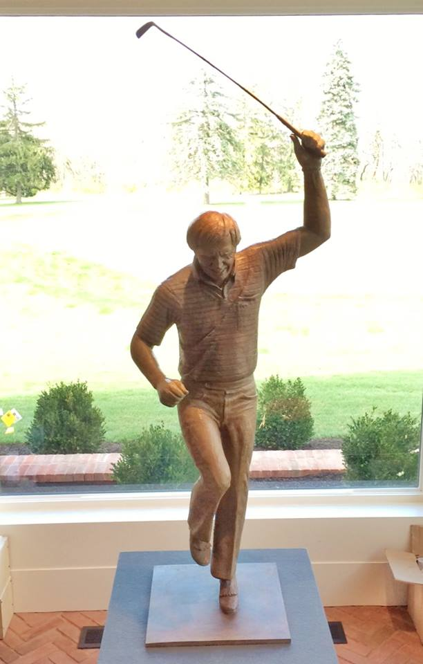 Jack Nicklaus, USGA Museum, sculpture collection