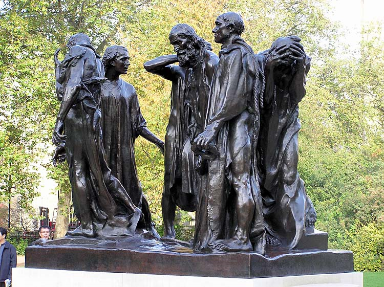 Burghers of Calais  by Auguste Rodin