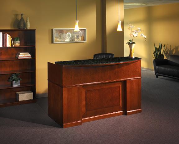 mayline sorrento reception station 1 - Reception Desks