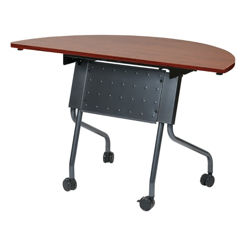 ofd half round folding training table 180 office solutions