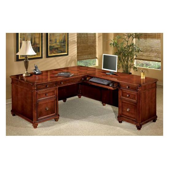 DMI Antigua Series Traditional L Desk