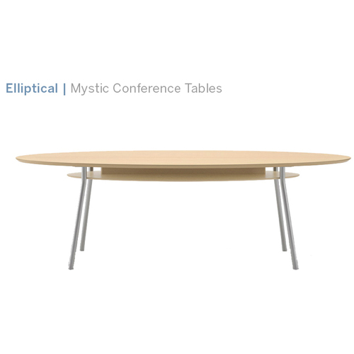 Lesro Mystic Elliptical Table Office Solutions Austins - Elliptical conference table