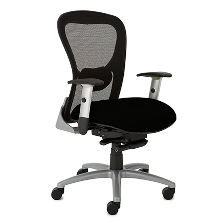 9to5 strata mid back heavy duty task chair 180 office solutions