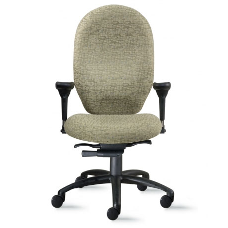 9to5 enduro high back heavy duty office chair - Heavy Duty Office Chairs