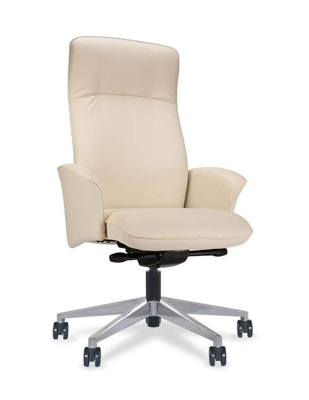 Via Bergen High Back Executive Chair With Headrest