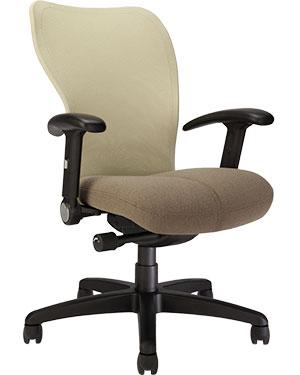 Via Voss Mesh High Back Chair