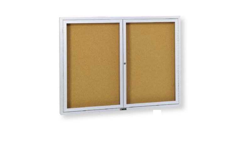 Genial Claridge Revere Bulletin Board Cabinet