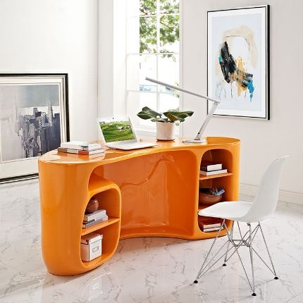 Impression Desk in Orange