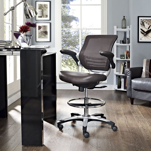 modway edge drafting chair 180 office solutions austin s most