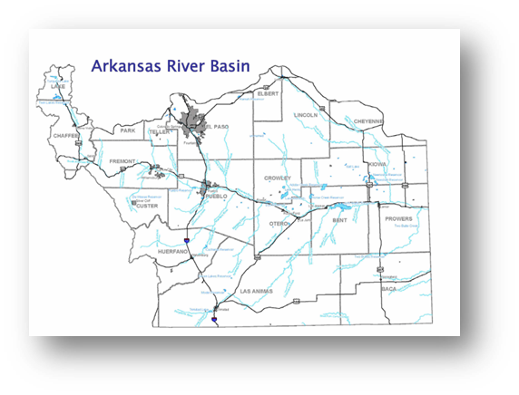 Colorado Water Conservation Board Basin Fact Sheet, Arkansas River Basin