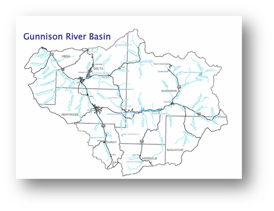 Colorado Water Conservation Board Basin Fact Sheet, Gunnison River Basin
