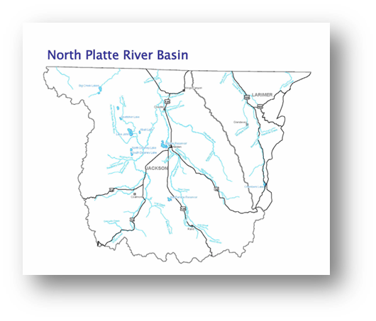 Colorado Water Conservation Board Basin Fact Sheet,  North Platte River Basin