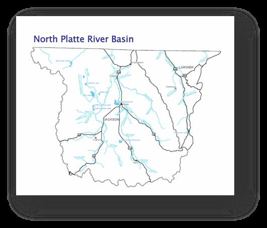 Colorado Water Conservation Board Basin Fact Sheet,  North Platte River Basin
