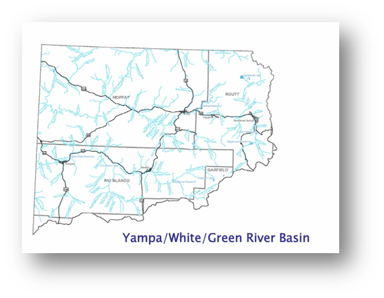 Colorado Water Conservation Board Basin Fact Sheet, Yampa/White/Green River Basin