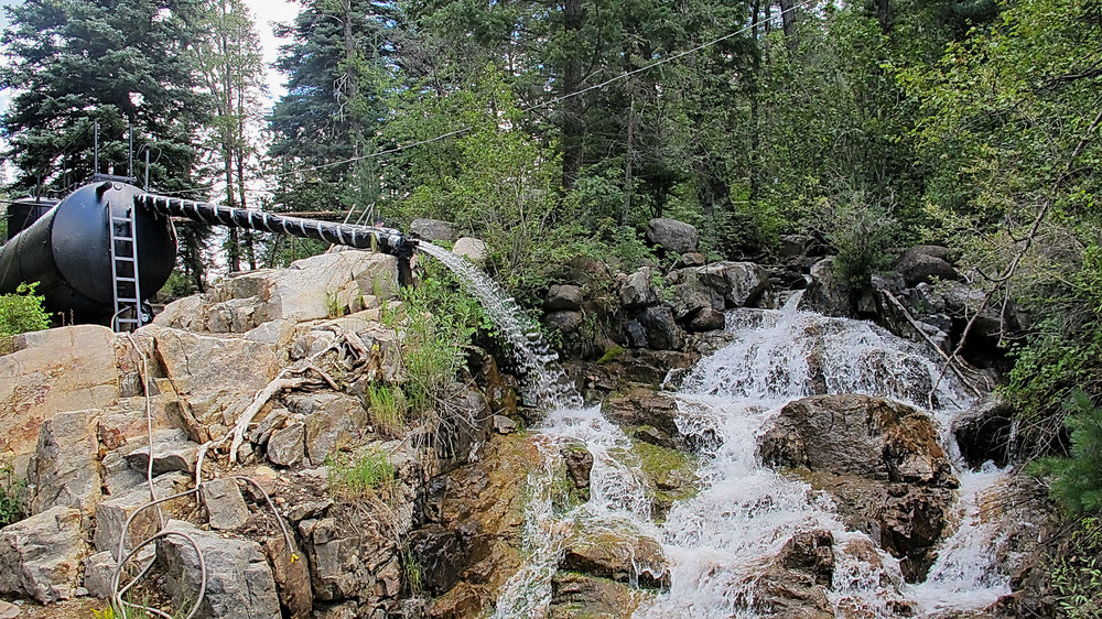 Tank Creek, Durango & Silverton Narrow Gauge Railroad