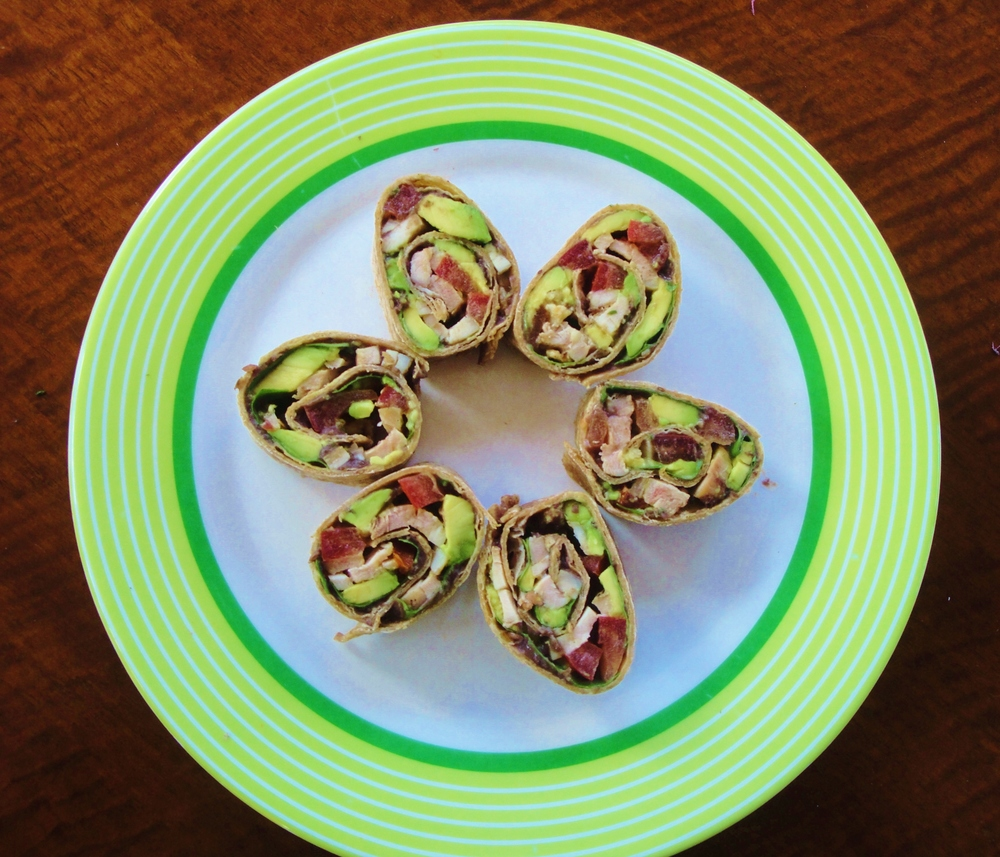 Mexican Pinwheels made in the Adventure Kitchen, March 2015