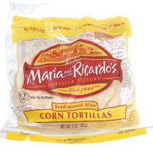 Corn tortillas, used in most of Mexico for many dishes including tacos.