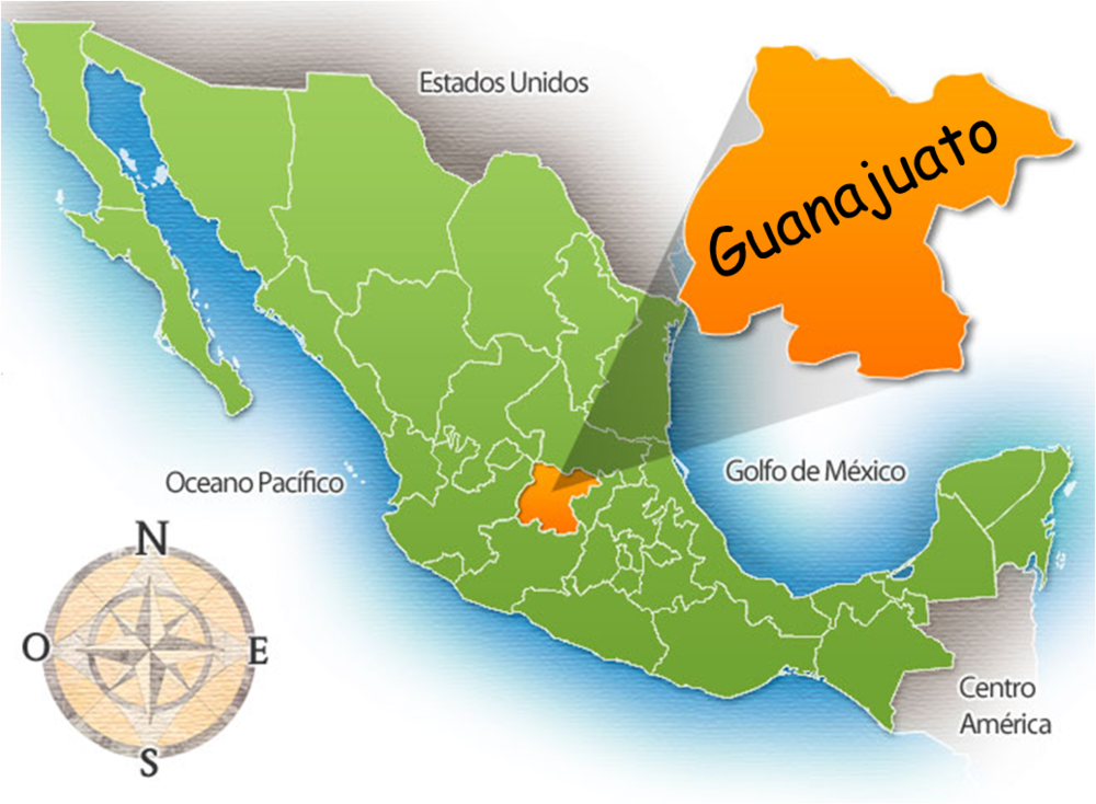 Mexico Map Guanajuato.Mucho Mango Tart And The Nectar Of Independence Adventure Kitchen
