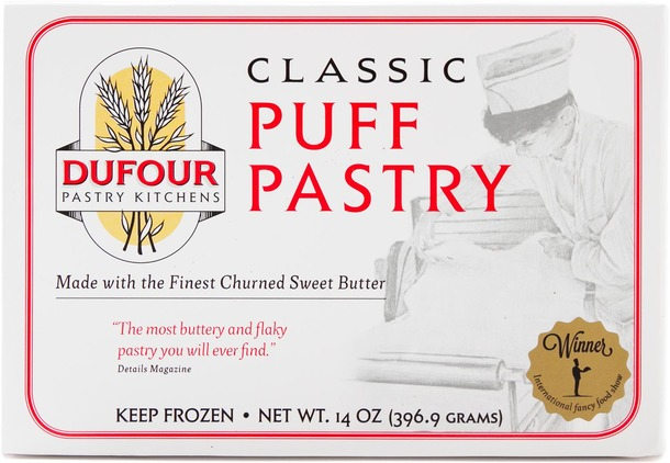 We recommend DuFour Puff Pastry