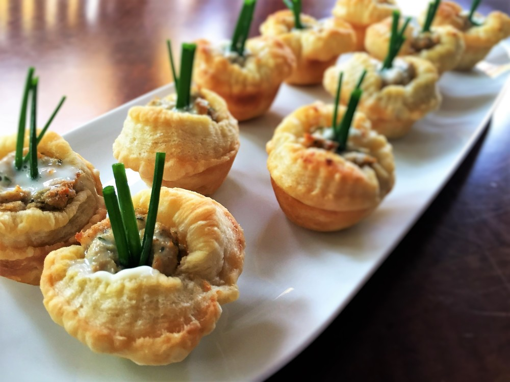 Salmon Puffs , made in the Adventure Kitchen in October 2015