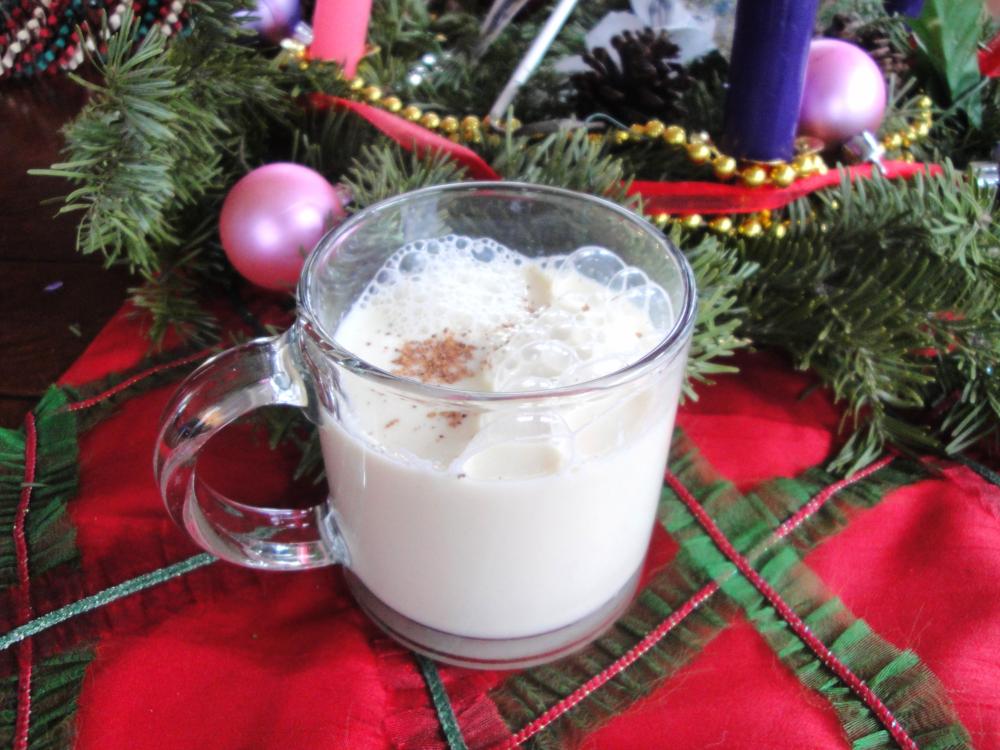 Homemade Eggnog in the Adventure Kitchen, December 2014