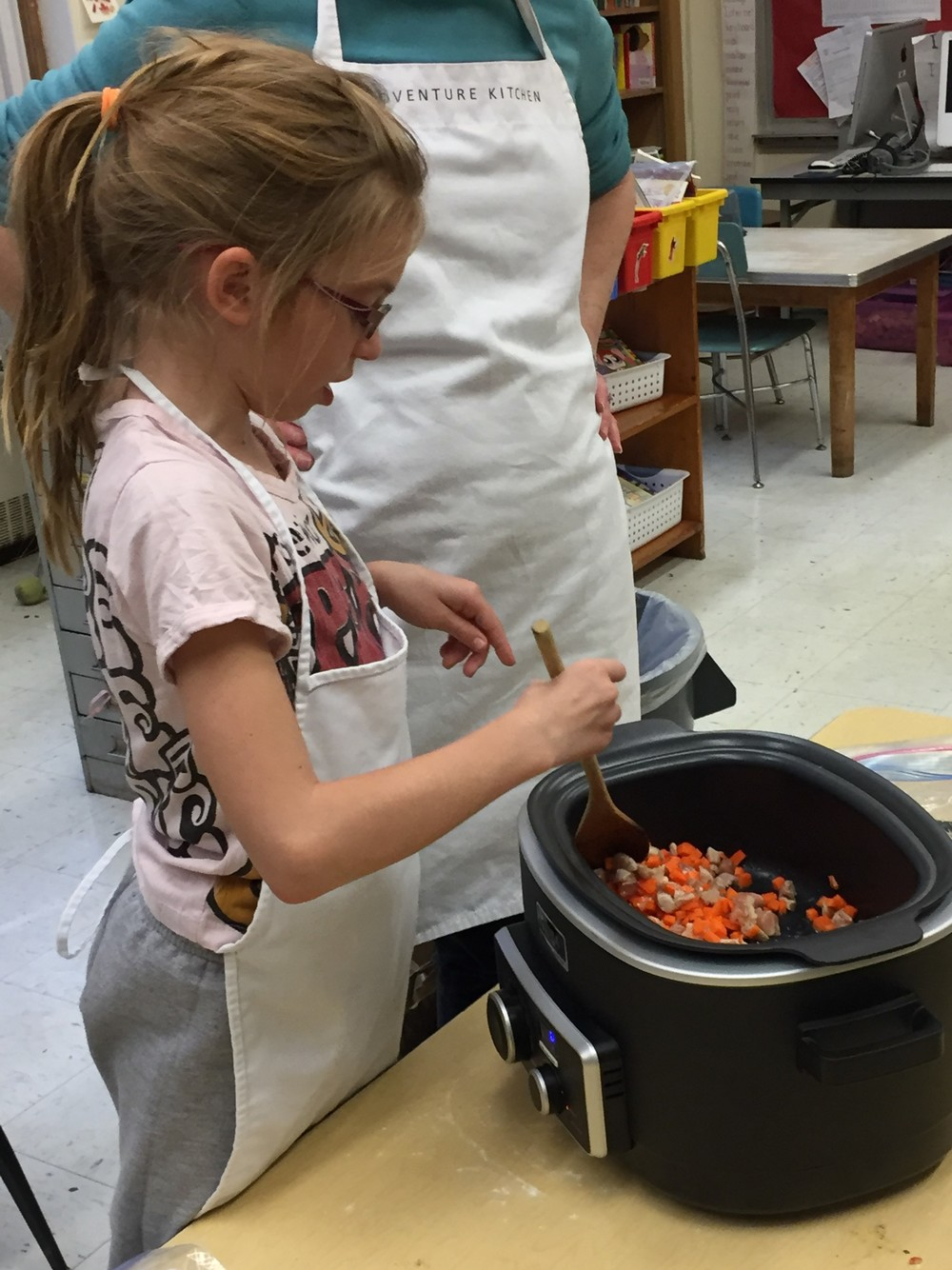 Stirring In the Carrots