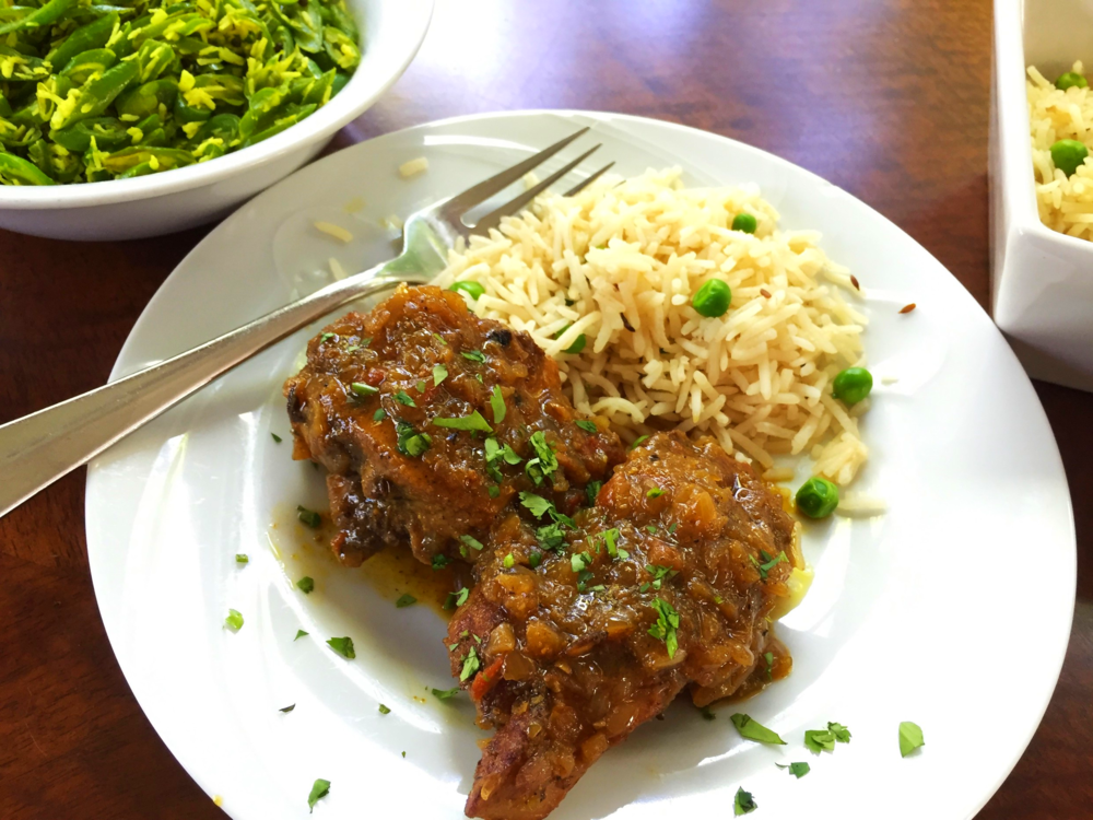 mughlai indian chicken curry