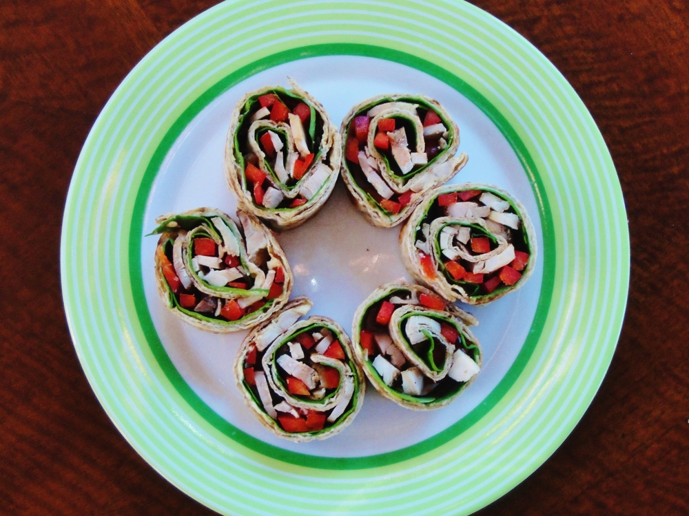 middle eastern pinwheels