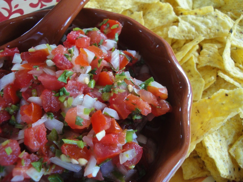 pico de gallo salsa mexican