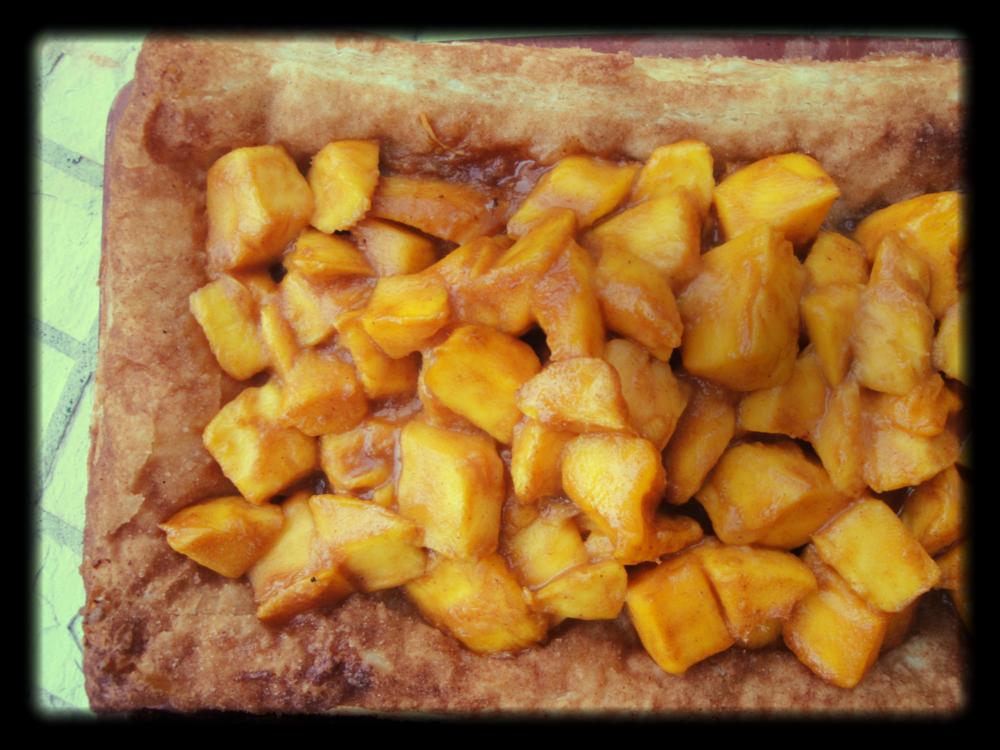 mucho mango tart