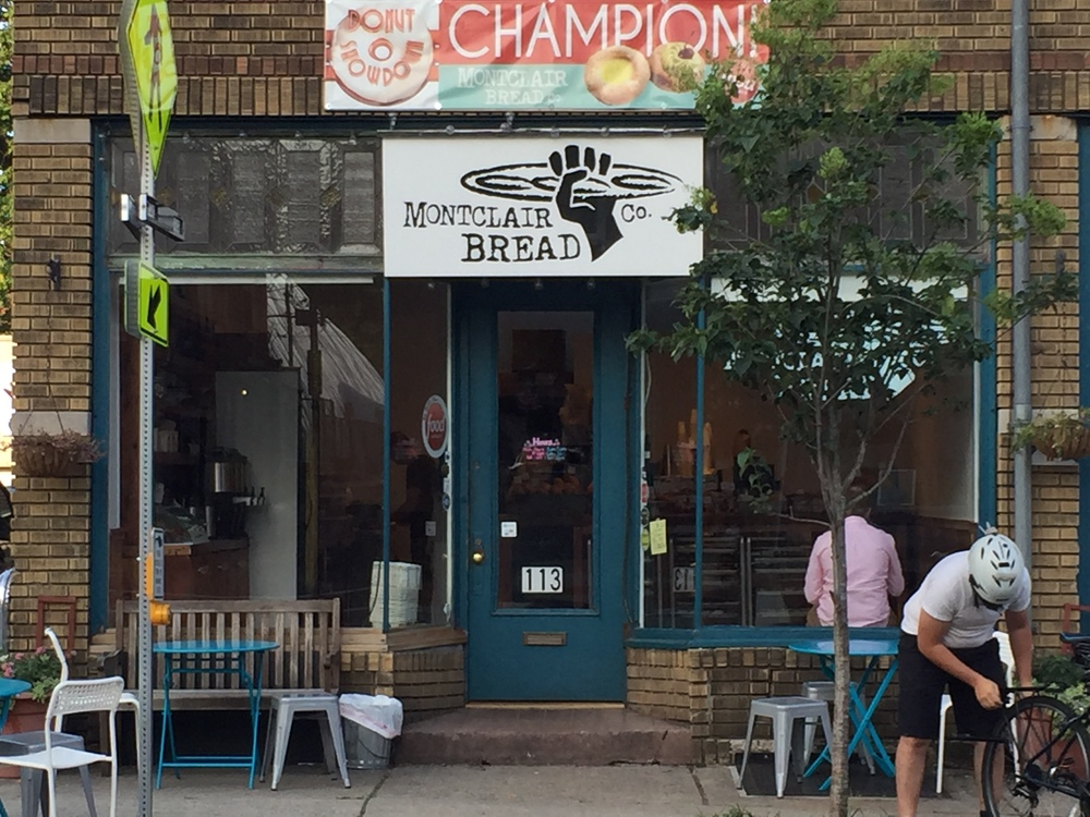 Montclair Bread Company on Walnut Street in Montclair, NJ