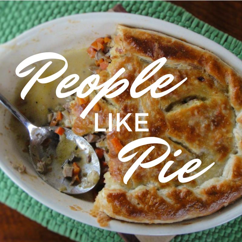 People Like Pie recipe series