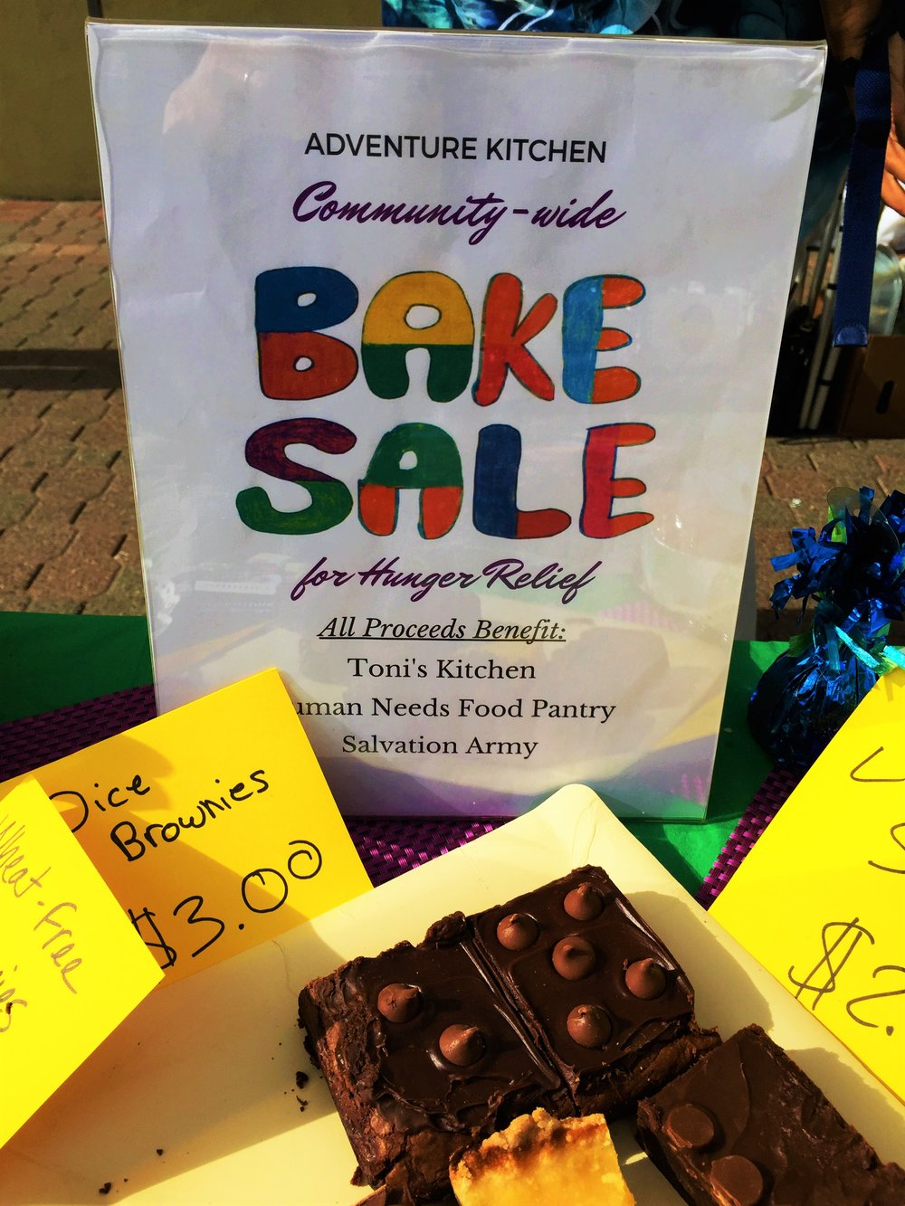 2017 Bake Sale