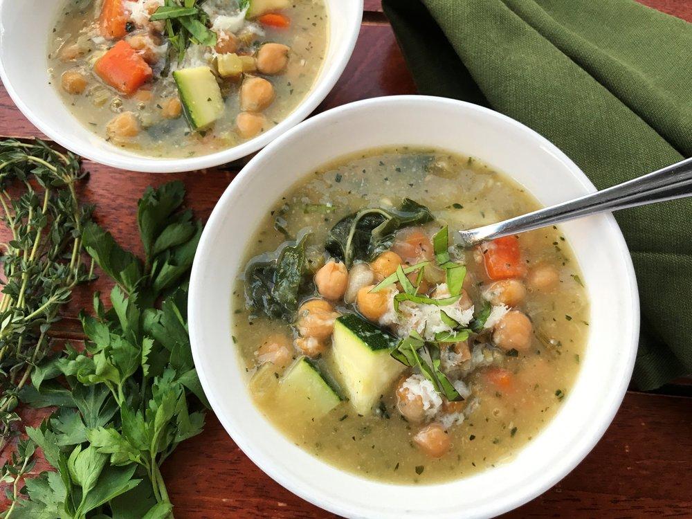 Girl Scout Summer Harvest Soup -