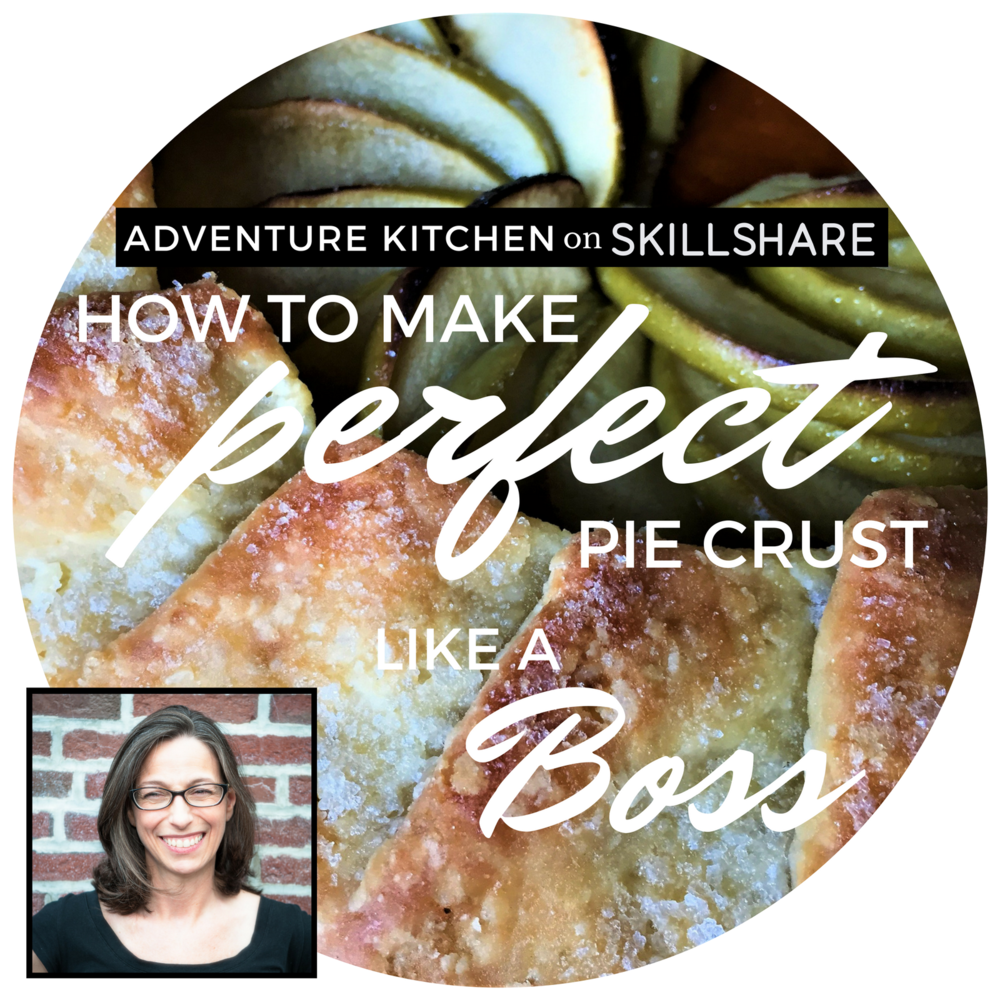 My video cooking class, where you can learn to make pie crust that will knock your socks off every time.