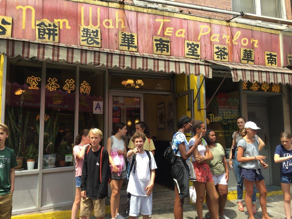 Nom Wah Tea Palace, Chinatown NYC