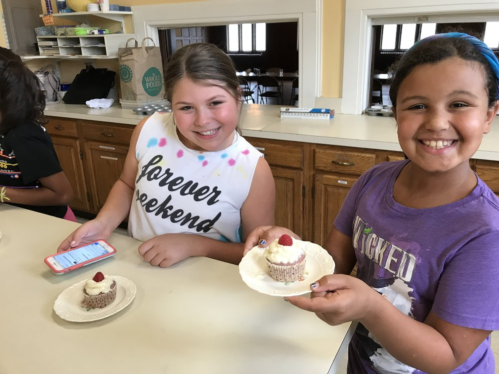 More campers and cupcakes!