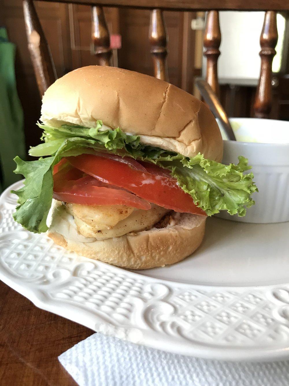 A Cheer-Up Cheeseburger