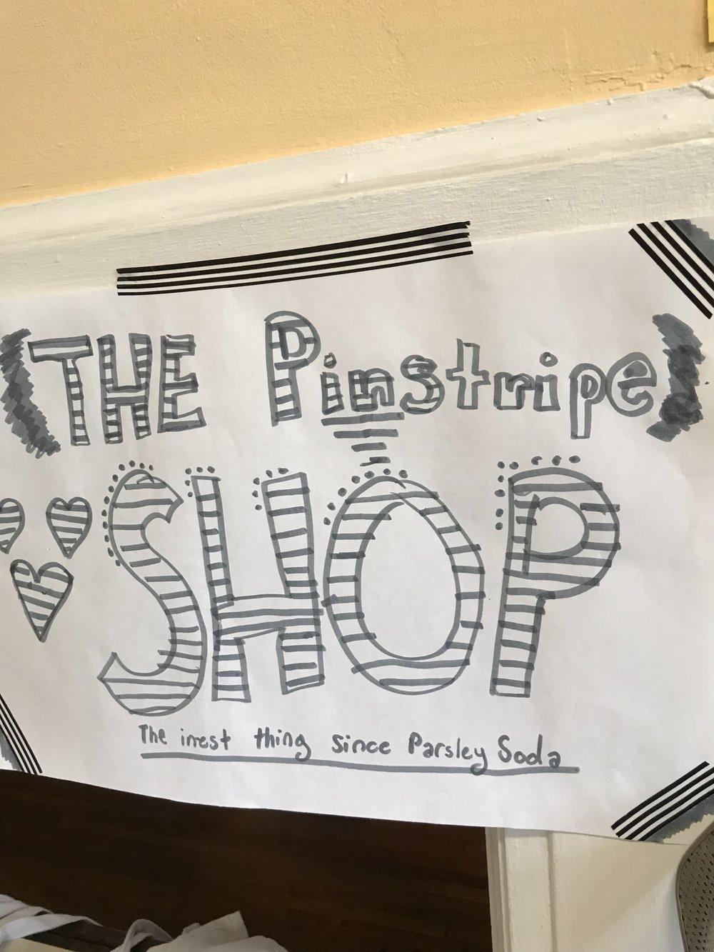 The Pinstripe Shop!