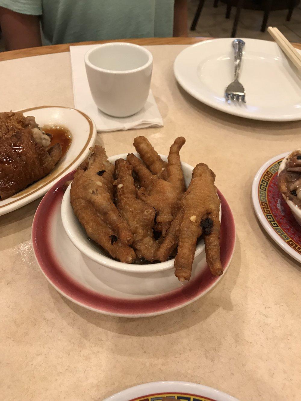 Chicken feet!
