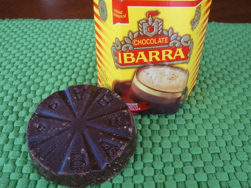 Ibarra is the brand of chocolate that actually comes from Mexico that I like best.