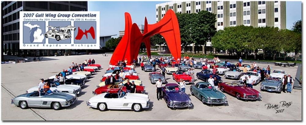 Cars on Calder Plaza
