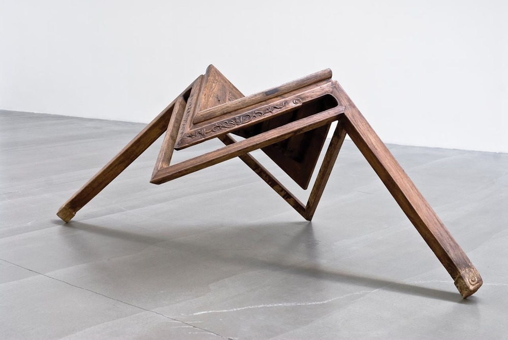 Table with Two Legs